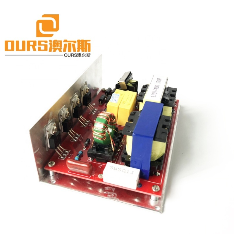 120w 25khz  Ultrasonic Generator  Power Ultrasonic PCB Generator for ultrasonic cleaning machine price include 2 transducer