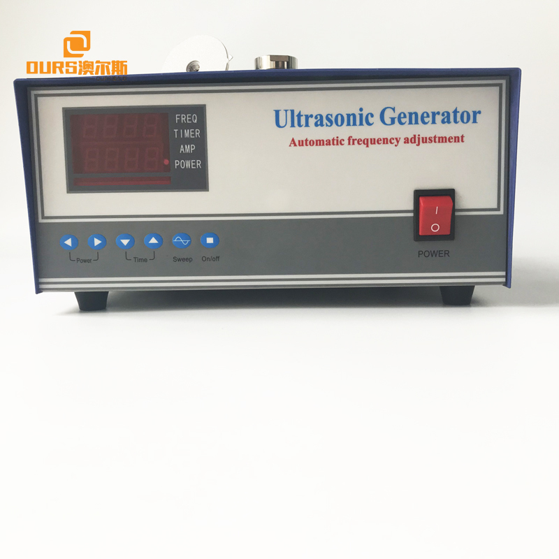 120-135KHz Ultra High Frequency Sound Generator 600W Digital Ultrasonic Piezoelectric Generator
