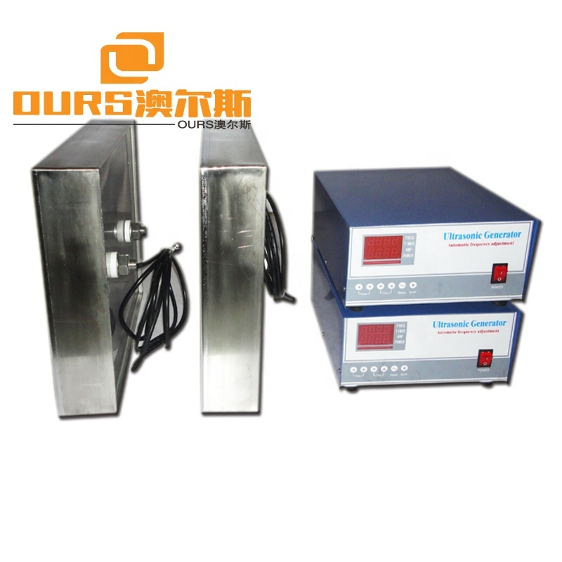 25KHZ/40khz/80khz Multi-frequency Immersible Ultrasonic Transducer 1000w For Ultrasound Cleaner