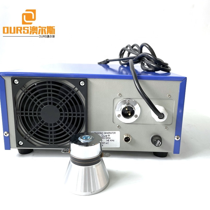 28KHZ 0-1200W Power And Frequency Adjusting Ultrasonic Generator With Display Board For Industrial Cleaning Machine