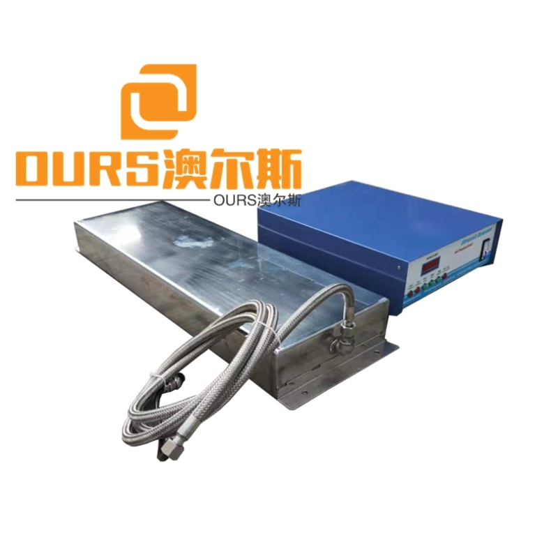 High Frequency 1200W Customizable Flexible Pipe Industrial Immersible Ultrasonic Vibration Transducers Plate