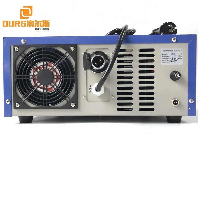 Industrial Washing Machine Digital Ultrasonic Multi Frequency Generator 28K/40K/120K As Cleaner Vibration Sensor Power
