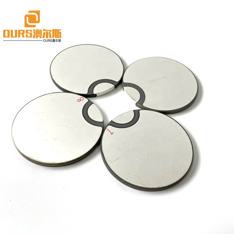 Factory Sales Different Electrode Piez Ceramic Disc 50mm Ring Ceramic Plate For Ultrasonic Cleaning Sensor Transducer