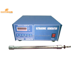 1000W Ultrasonic tubular equipment ultrasonic tube reactor ultrasonic cleaning transducer for Pipeline cleaning