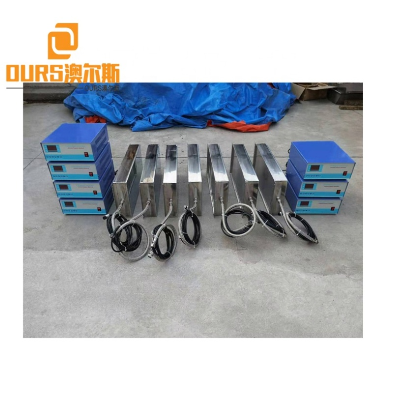 Industry Fuel Injector Cleaning Machine Immersible Transducer Ultrasonic Cleaner With Vibration Generator 25K/28K/33K/40K