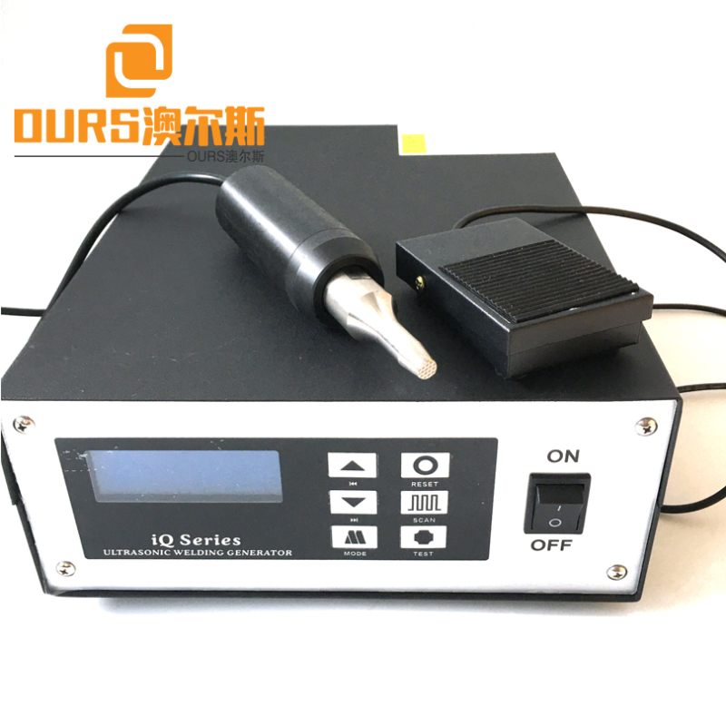 28KHZ/35KHZ High Frequency Digital Ultrasonic welding machine generator for Ear Loop 500W Portable Spot Welding Machine