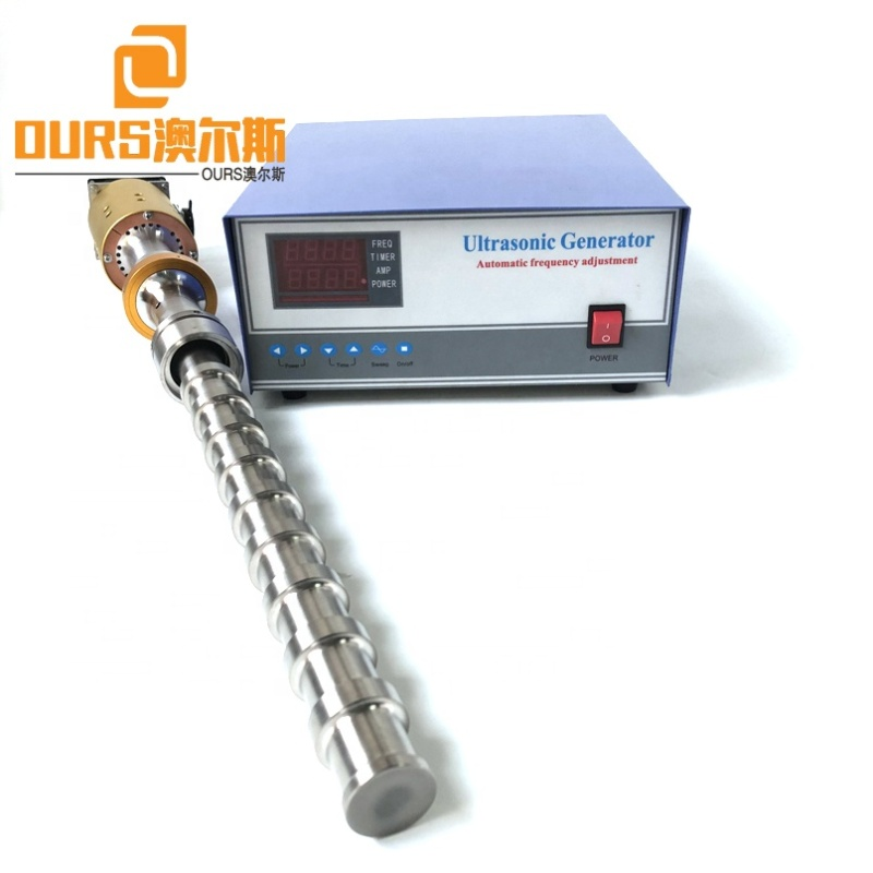 Flange Type Vibration Wave Ultrasonic Biodiesel Reactor Probe And Generator 20K 1000W For Industry Biodiesel Production/Smelting