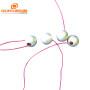 Piezoelectric Element Tube Piezoelectric Ceramics Lightweight Electrical Ultrasonic Reactor Parts