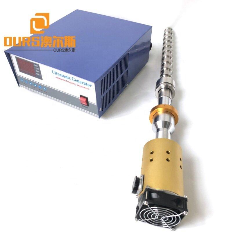 20K 1000W Waterproof Ultrasonic Emulsifier Mixer Homogenizer For Biodiesel Production Tube Ultrasonic Reactor And Power