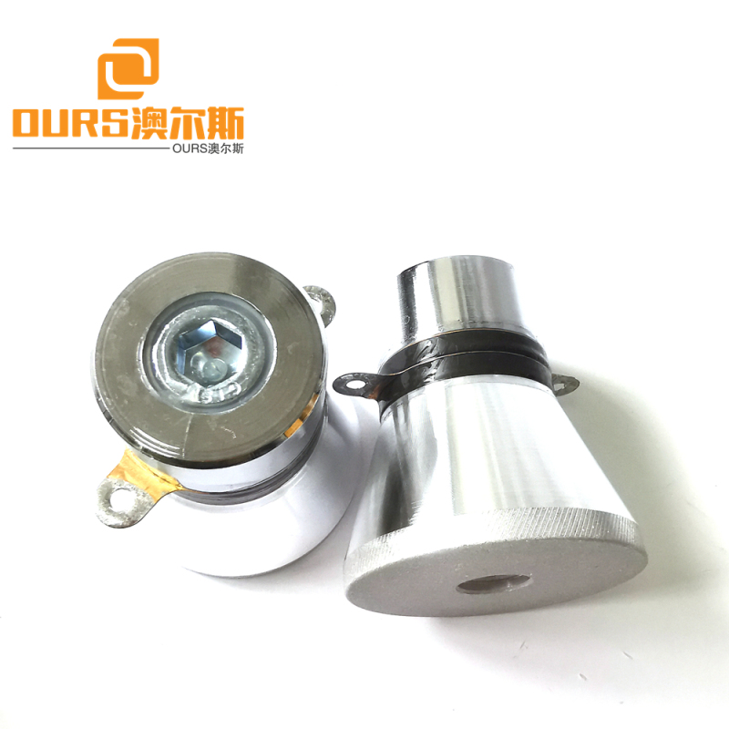 28khz 60w pzt4 Ultrasonic Sensor For High Cleanliness Cleaning of Semiconductor Wafers