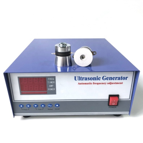 300W Multi Function Ultrasonic Generator With Sweep Frequency Function For Cleaning Industrial Parts