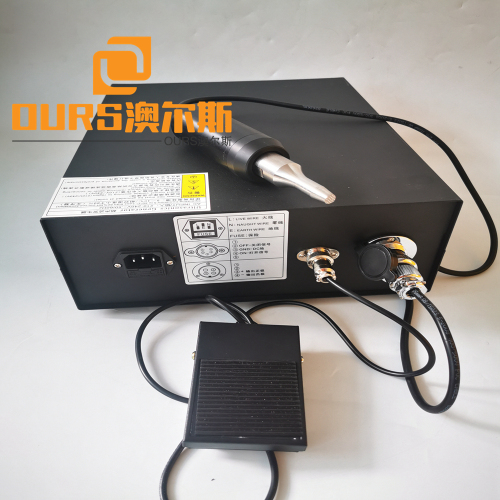 28khz 35khz Portable High Frequency Noise Sound Absorbing Cotton 800W Ultrasonic  Welder