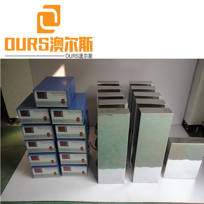 1000W Customize 80KHZ High Frequency Acoustic Transducer Submersible Ultrasonic Transducer Box