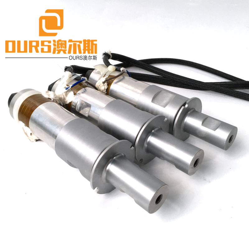 2000W 20KHZ PZT8 non-woven fabrics welding transducer for Ultrasonic Weldling System