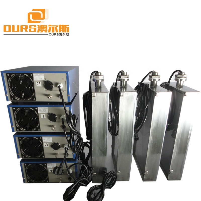 300W Immersible Ultrasonic Transducer Submersible Ultrasonic Transducer Pack With Ultrasonic Generator For Cleaning