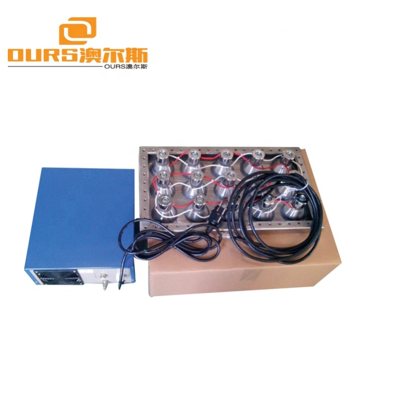 5000W Ultrasonic Immersible Transducer Pack Guaranteed Immersible Underwater Ultrasound Piezoelectric Phased Array Transducer