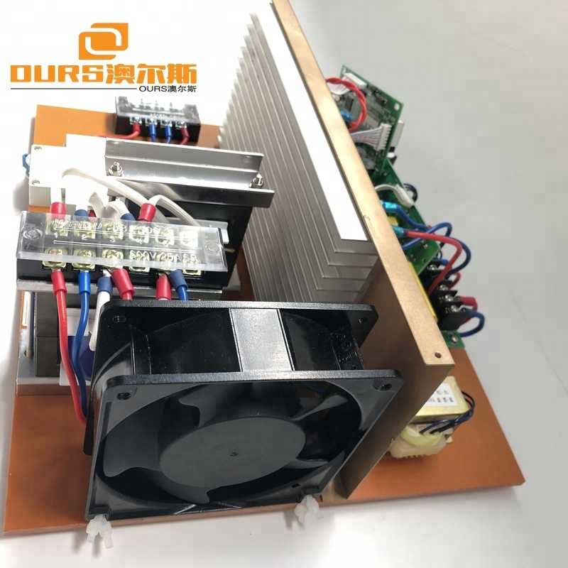 1500W PCB Ultrasonic Cleaning Generator ,17-48khz Ultrasonic Frequency And Current Adjustable