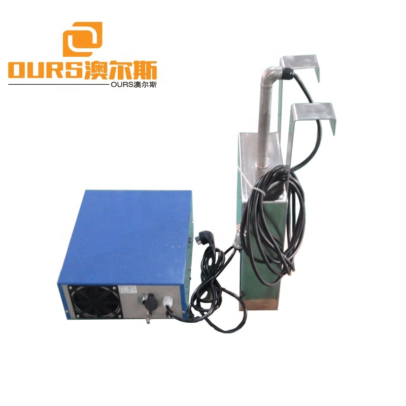 90KHZ High frequency 1000W SS316 Submersible Transducers Mounting at the Bottom or Inner Wall of Tank