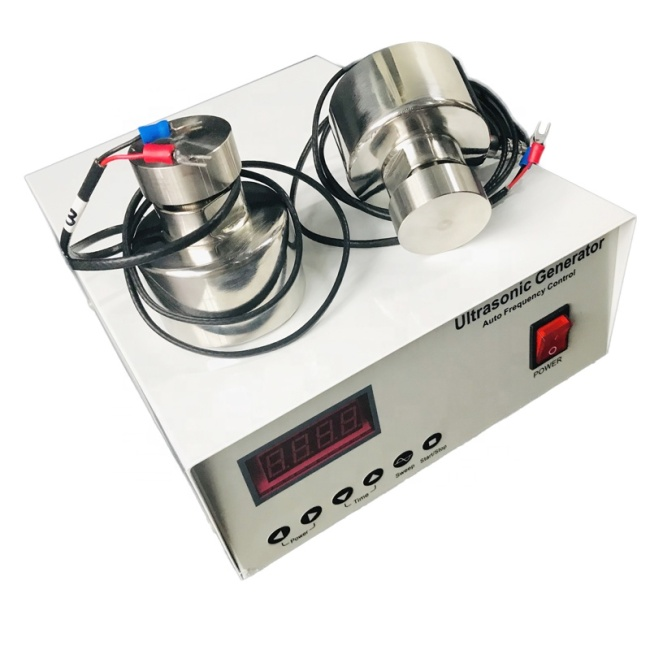 Ultrasonic Vibrating Sieve Machine Components 200W Ultrasonic Vibration Transducer