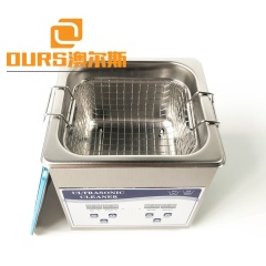 Tabletop 2 Volume Super Ultrasonic Cleaning Machine With  Heating Power For Silver Jewelry Cleaning