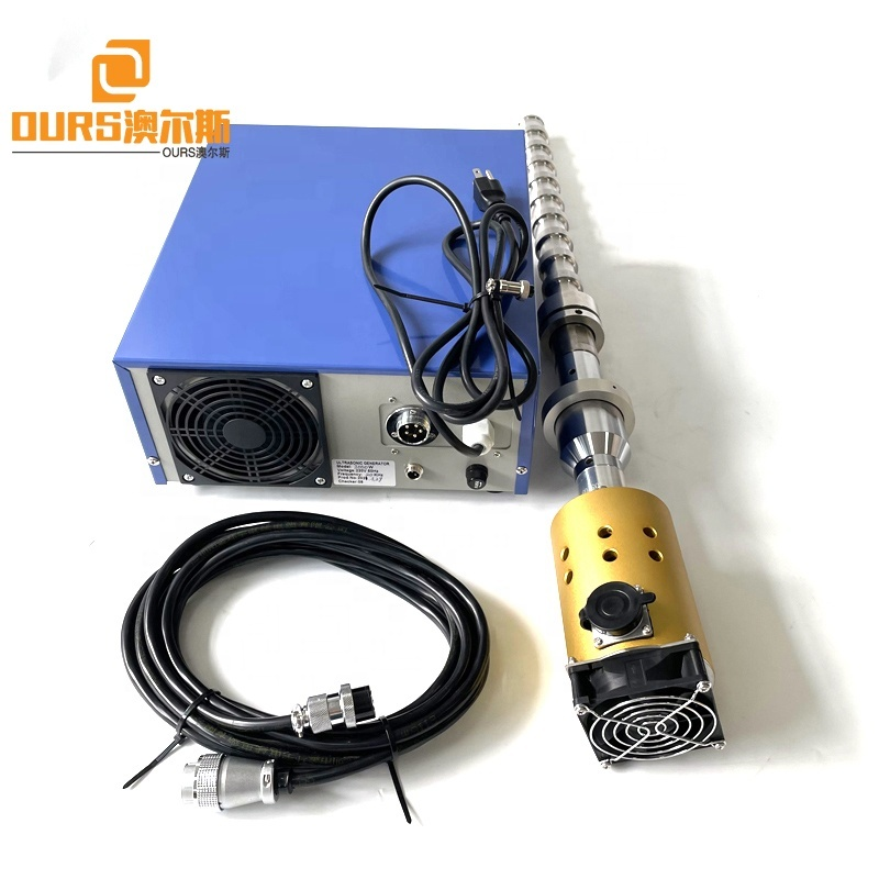 20K 1000W Ultrasonic Transducer Vibration Intensification As A Tool For Enhanced Microbial Biofuel Yields