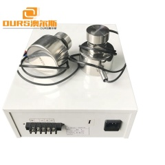 Stainless Steel Ultrasonic Vibration Screen Sensor 33KHz Ultrasonic Vibration Transducer For Cleaning
