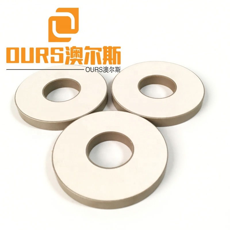 PZT4 PZT5 Material Ring Piezo Ceramics 50*17*5mm For Welding Transducer
