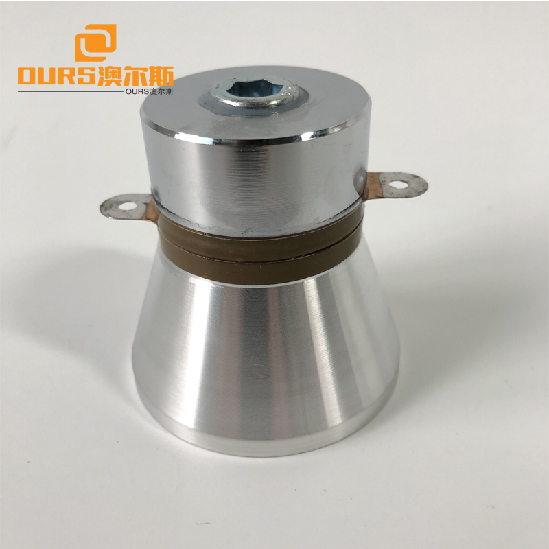 28K40K122K 60W Three frequency Langevin transducer Ultrasonic Cleaning transducer drive