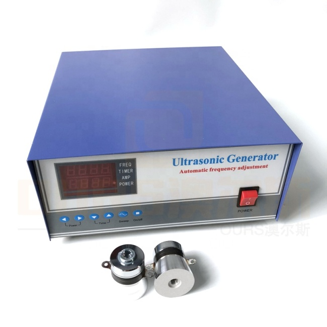 Vibration Ultrasound Cleaning Signal Power Single Frequency Ultrasonic Generator For 40K Transducer Cleaning Machine