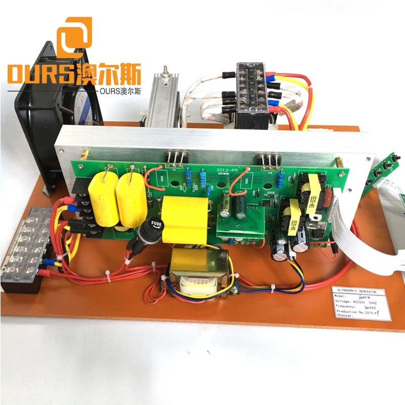 28KHZ 300W Bare Metal Ultrasonic Cleaner Power Generator For Driver Cleaning Vegetable Machine