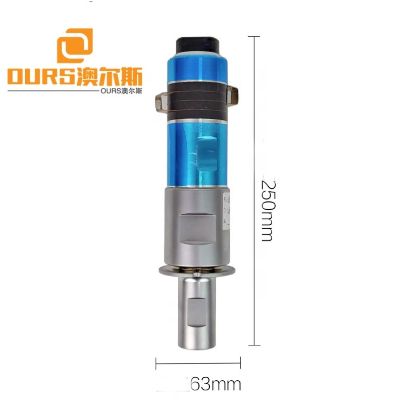 20Khz Ultrasonic plastic Welding Transducer With booster for plastic machine