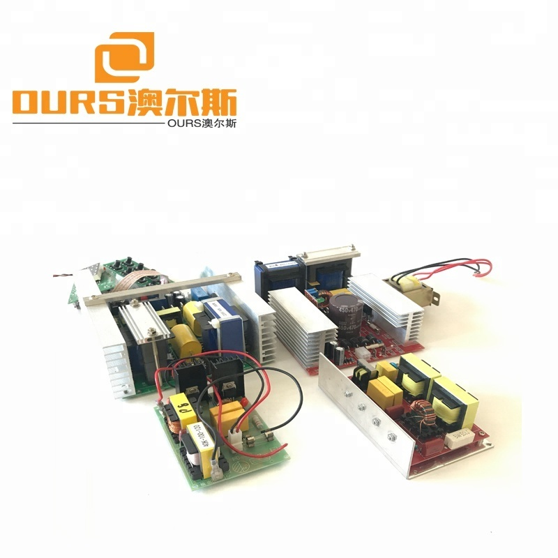 500W40KHZ 220V Temperature heating control,Power & Timer Adjust Ultrasonic Transducer PCB  for cleaning transducer and cleaner