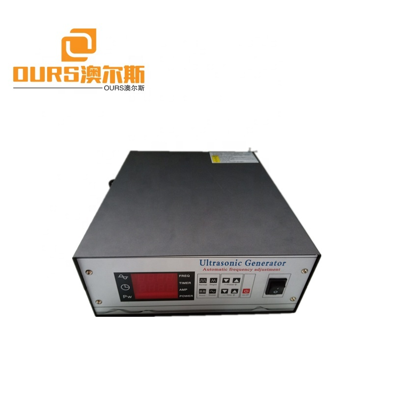 1200w  Pulse Ultrasonic Generator for ultrasonic cleaning 65-80khz high frequency adjustable