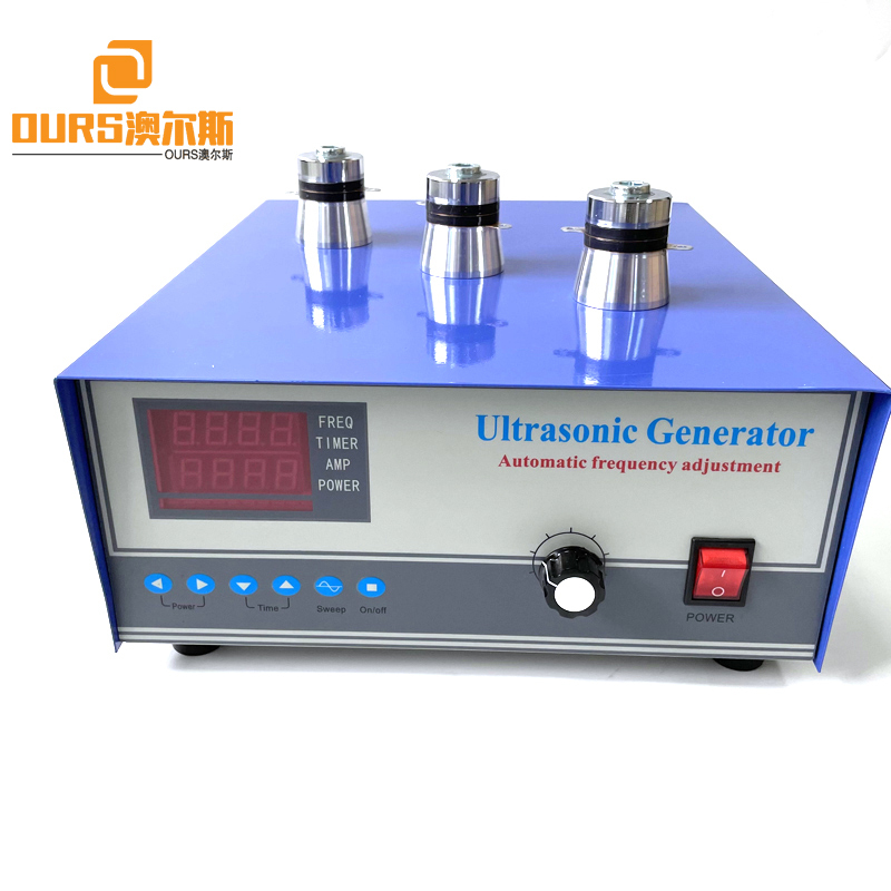 28K-40K 600W Factory Sale Ultrasonic Pressure Wave Generator For Car Diesel Engine Cylinder Bubble Flushing Cleaning Machine