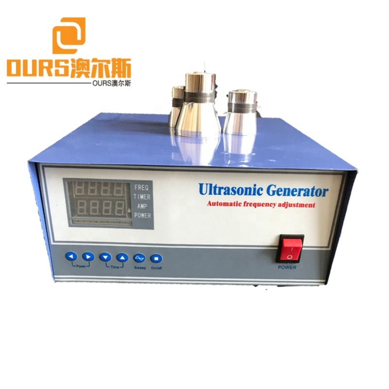 300W To 1800W Industry Cleaner Ultrasonic Generator Box With Time/Frequency/Power Adjustable As Cleaning Transducer Driver