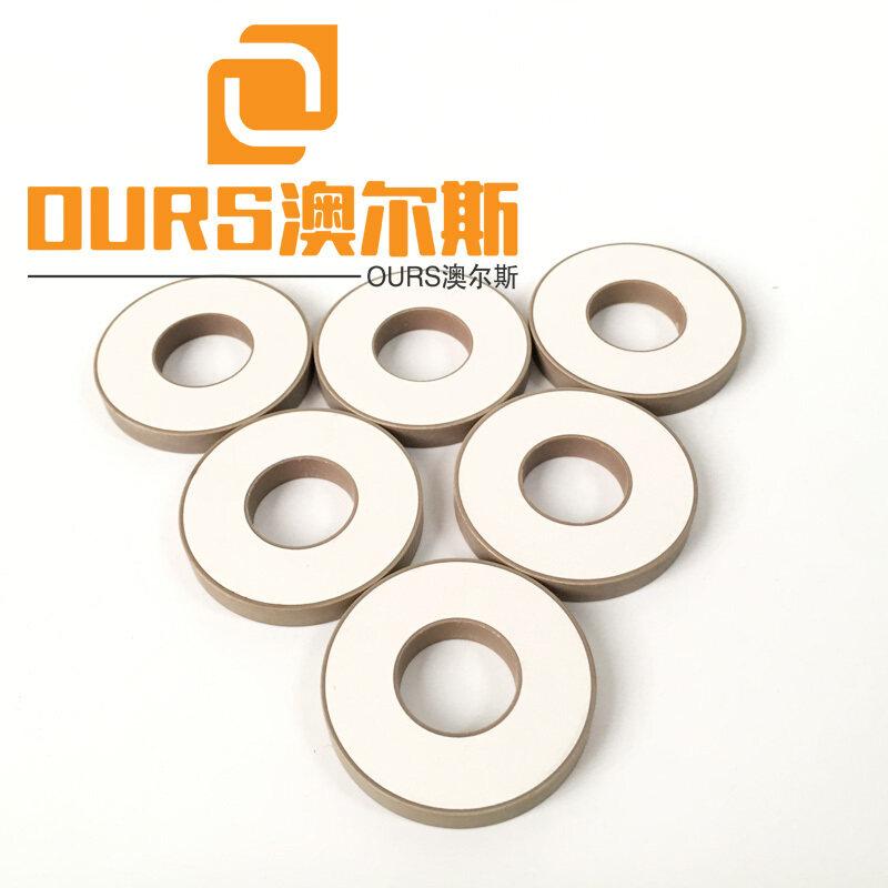 30X12X5mm Ring Piezo Ceramic PZT-8 For 35KHZ Label Cutting Transducer