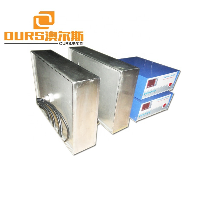 135KHZ  High Frequency Ultrasonic Generator Vibration Transducers 1000W  Immersible Ultrasonic Cleaner