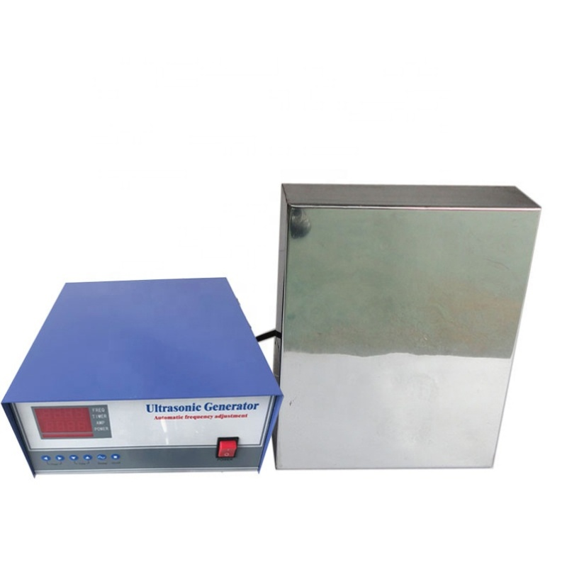 1800W Immersible Ultrasonic Vibrators Pack Transducer and Generator 40KHz For Ultrasonic Parts Cleaner