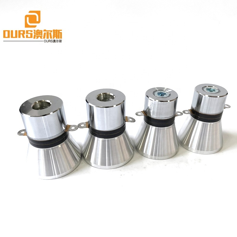25KHZ 100W High Power Factory Sale Ultrasonic Transducer Use For Making Industrial Tableware Cleaning Machine