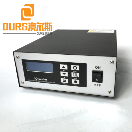 Best-selling Turkey and India 20khz Ultrasonic welding generator For Inspection Adjustable Ear-loop Fish Mask Machine