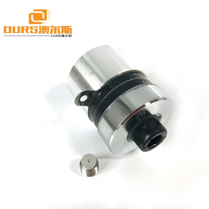 60W Ultrasonic Oscillator Piezoelectric Transducer 80KHz Ultrasonic Transducer for Industrial Cleaning