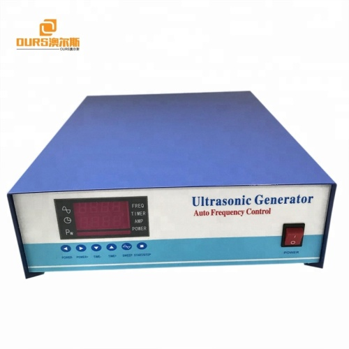 54-135khz High frequency Industry Ultrasonic Cleaning generator