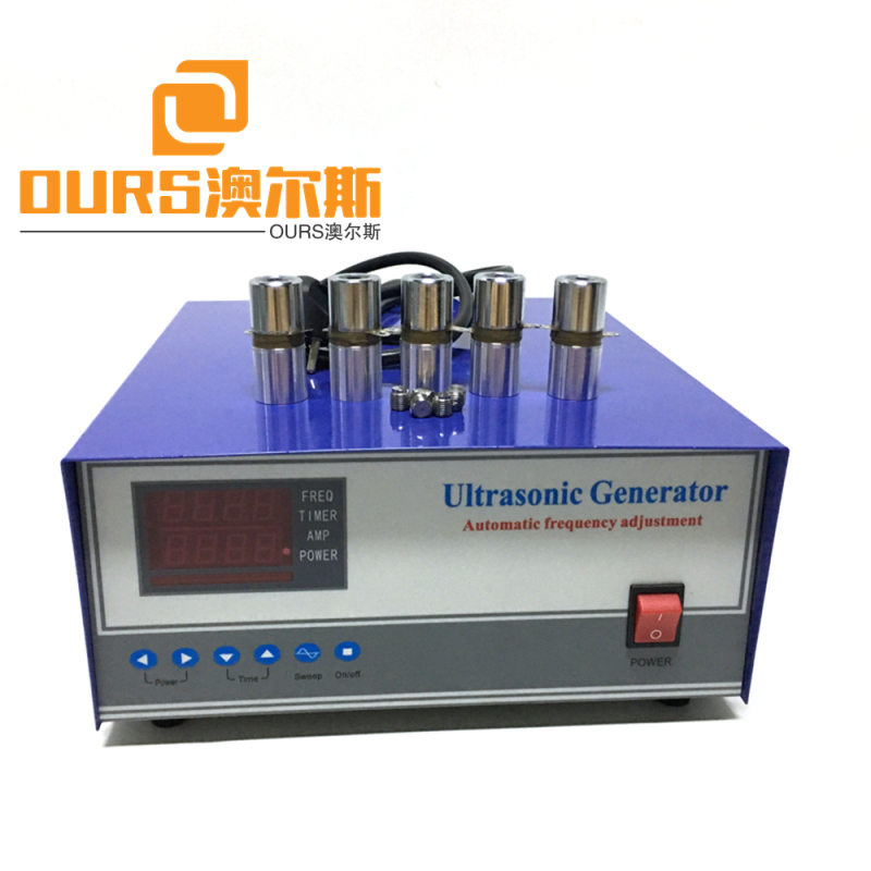 1800w manufacturer supply Ultrasonic Cleaner Parts Transducer Driver Cleaning Generator