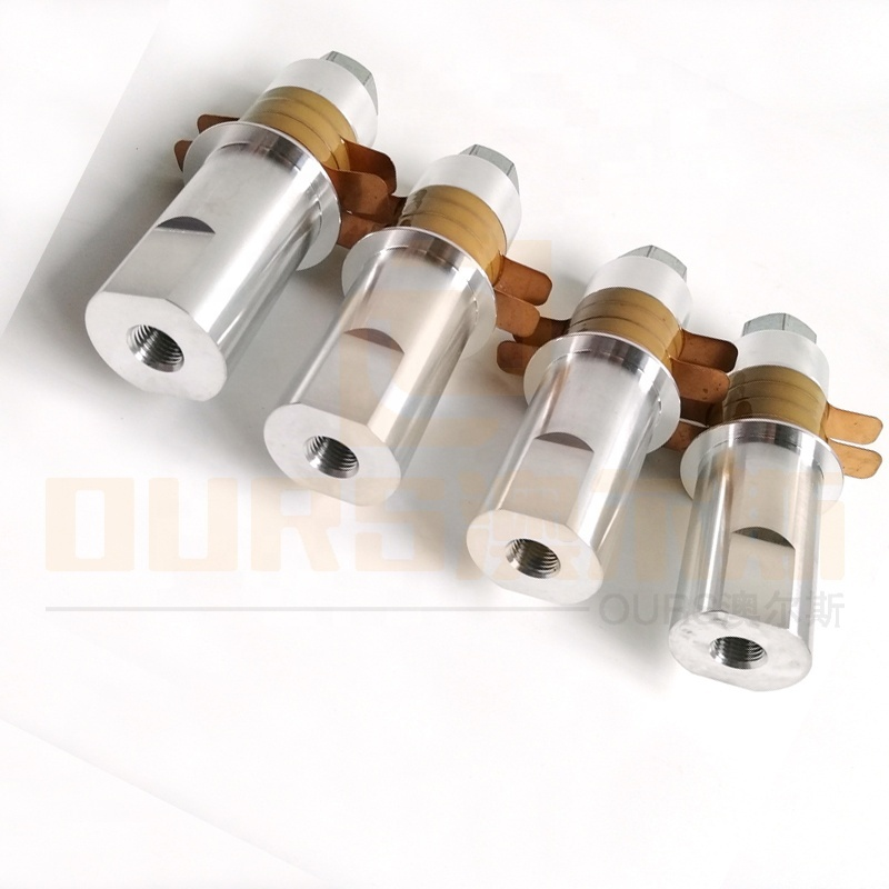 Factory Wholesale 30K 100W Industry Ultrasonic Welding Transducer For Ultrasonic Plastic Welder