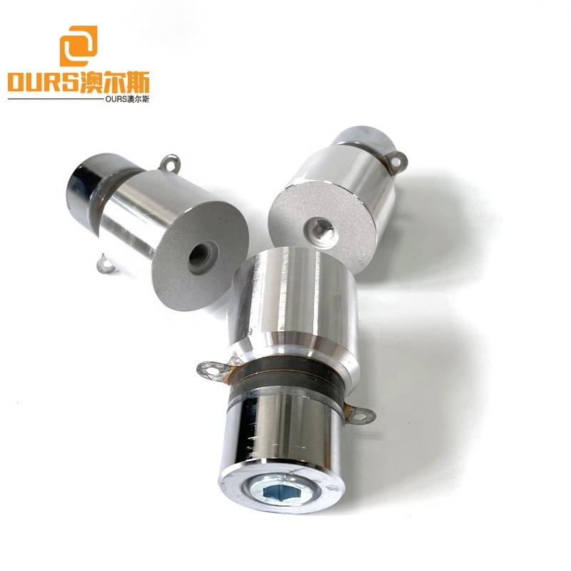28KHZ 50W Ultrasonic Piezoelectric Transducer Industrial Waterproof Cleaning Tank Vibrator Kits