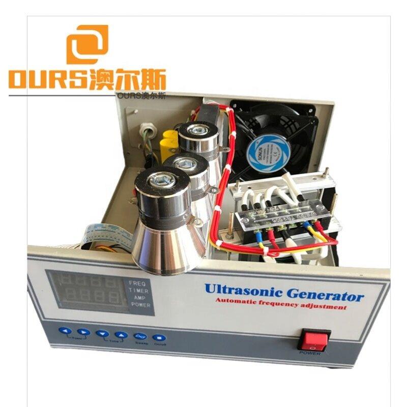 Adjust Power 300W-1200W Digital Ultrasonic Transducer Generator 40K Frequency Industry Cleaning Machine Generator