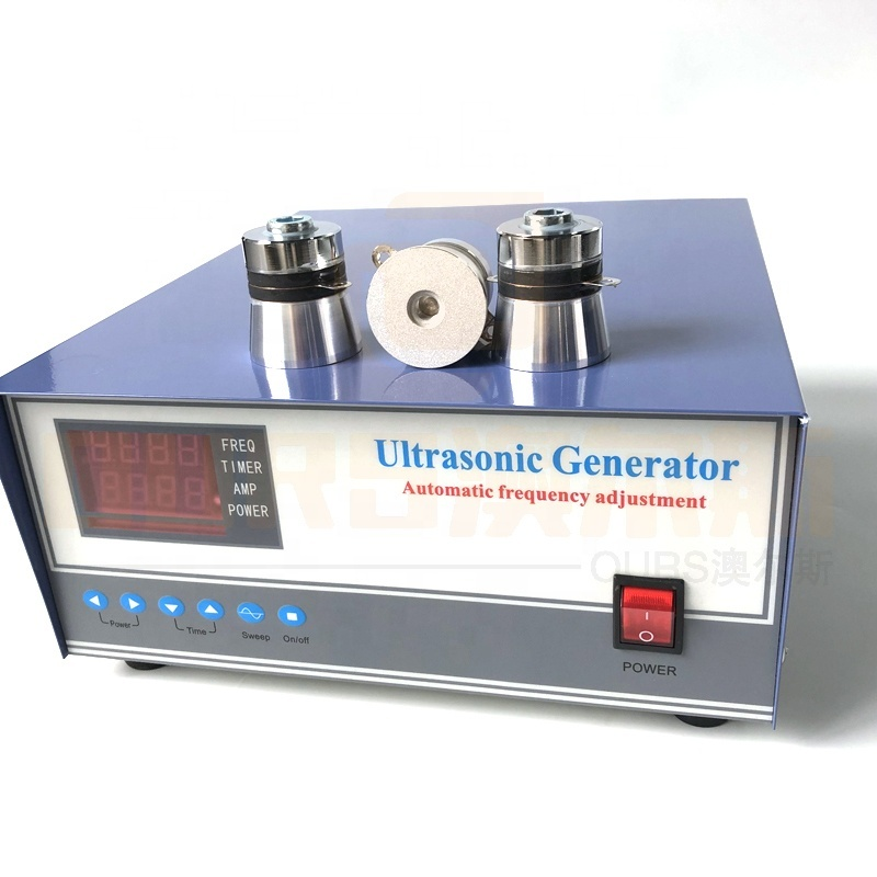 Low Cost Industrial Cleaner Ultrasonic Pulse Wave Generator 900W Digital Circuit Power Generator For Cleaning Equipment