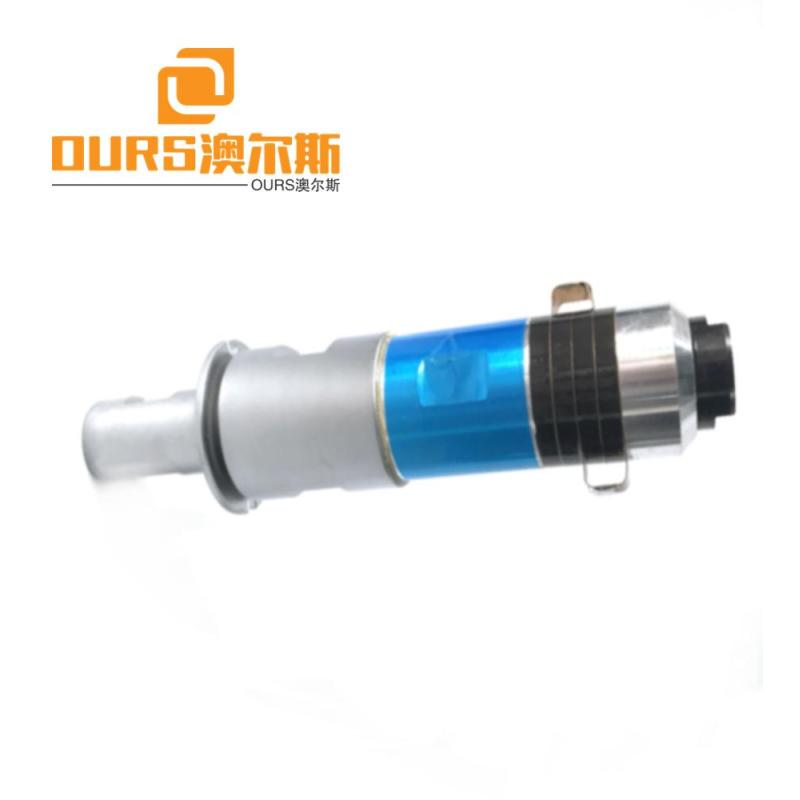 2000w 20khz Non-woven fabric Ultrasound ultrasonic welding transducer  With Titanium Booster