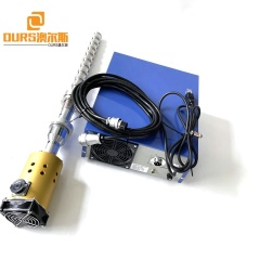 PLC Generator Control Immersible Cleaner Tank Ultrasonic Transducer Reactor 20K 1000W Used For Industrial Refined Diesel