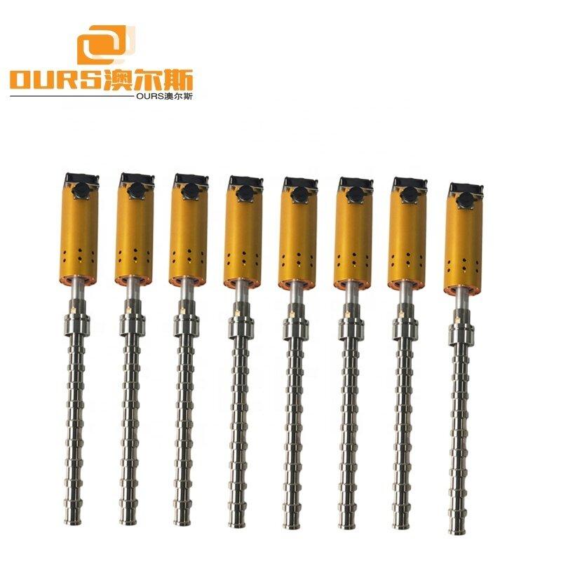 300W/600W/900W/1000W/1500W/2000W Titanium Ultrasonic Tube Reactor For Biodiesel Processing Ultrasonic Biodiesel Reactor